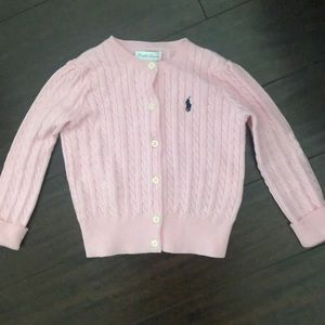 Ralph Lauren pink sweater